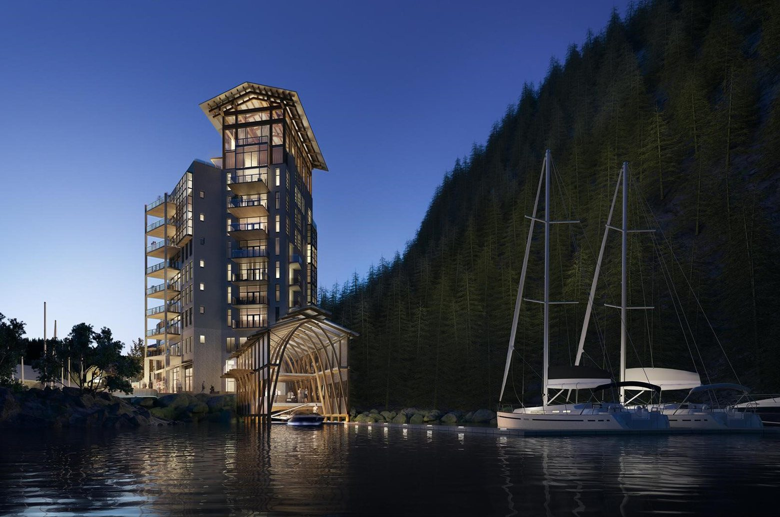 Sewell's Landing West Vancouver catcan