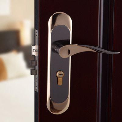 Interior-door-locks-Double-Security-Entry-Mortise-house-door-Lock-Set-stainless-steel-gate-locks-safe